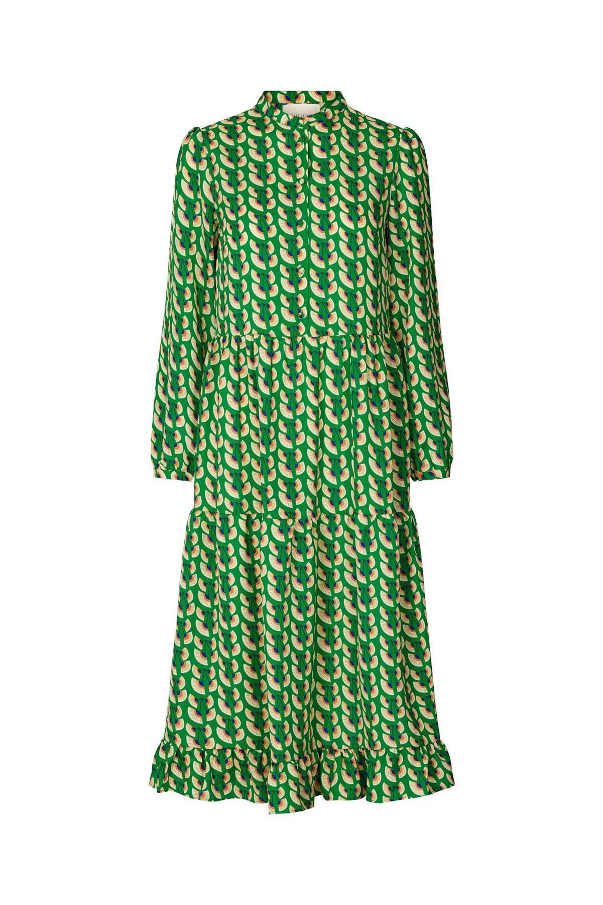 Green Anita Dress by Lollys Laundry