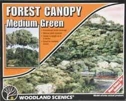 Woodland Scenics #F1661 Forest Canopy Medium Green