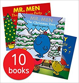 MR MEN 10 CHRISTMAS STORYBOOKS COLLECTION
