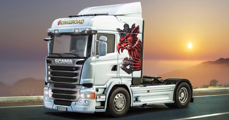 Italeri #3932 1/24 Scania R730  Streamline ( Highline Cab)