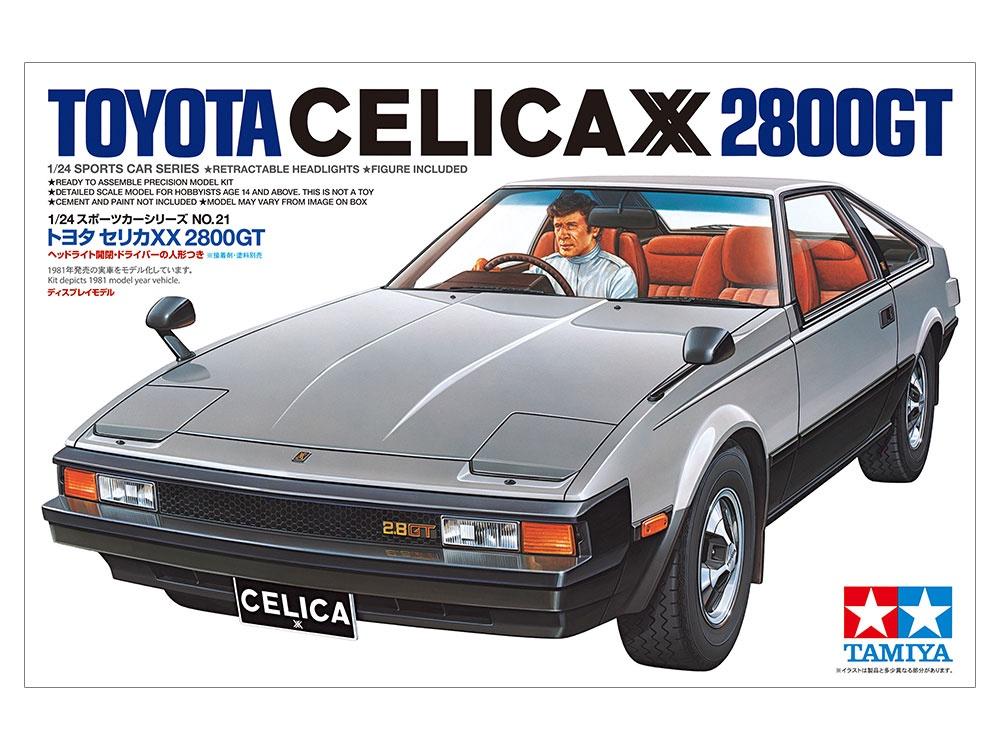 Tamiya #24021 1/24 Toyota Celica XX 2800GT