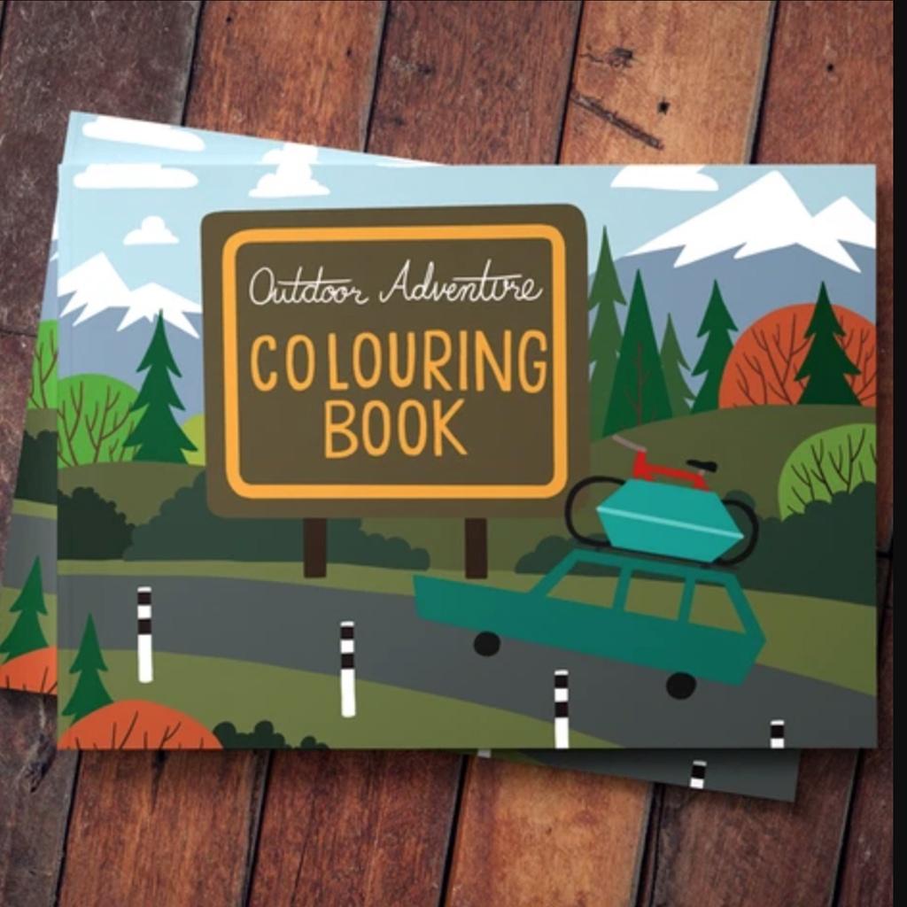 Rocky Mountain: Colouring Book