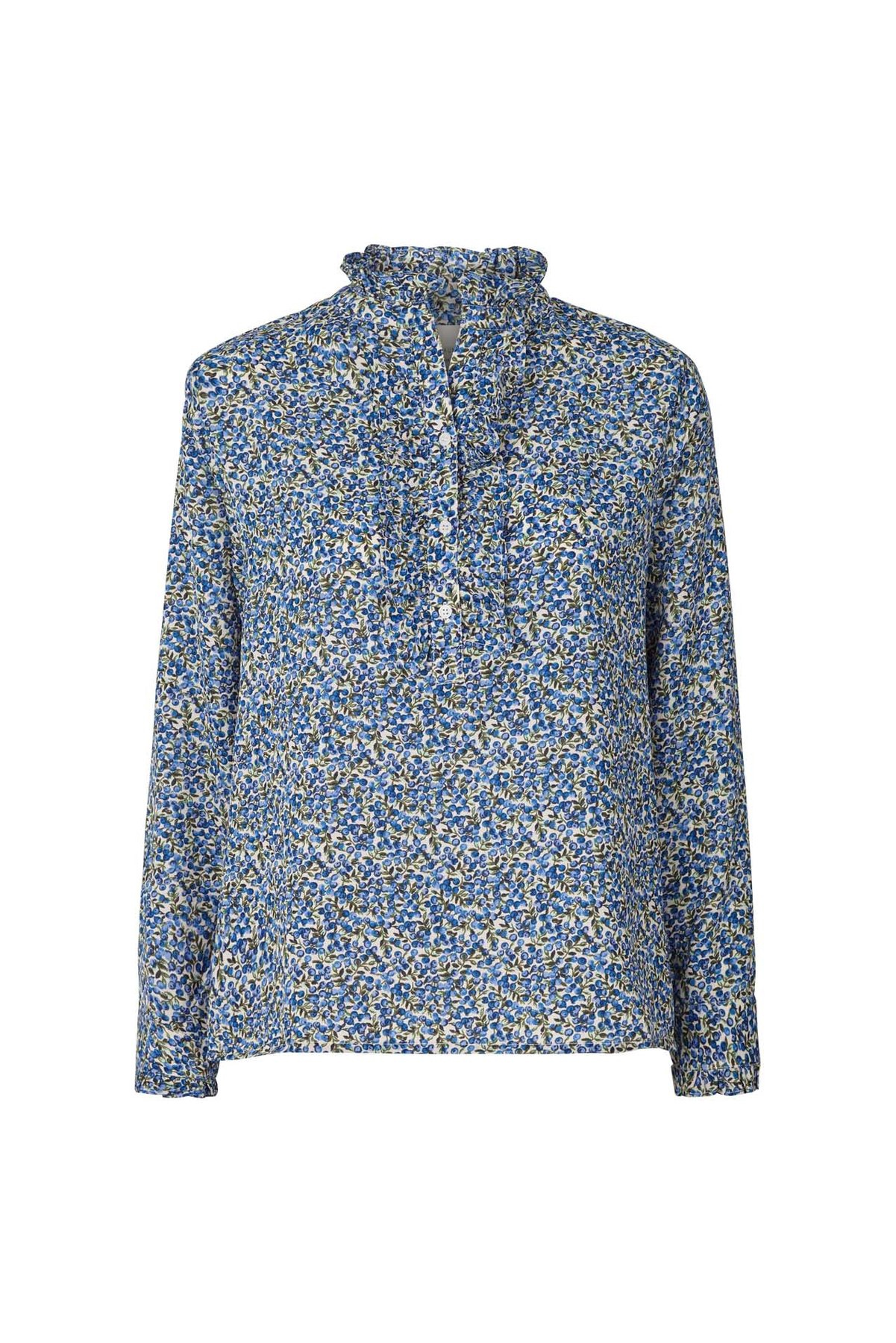 Franka Blue Flower Shirt