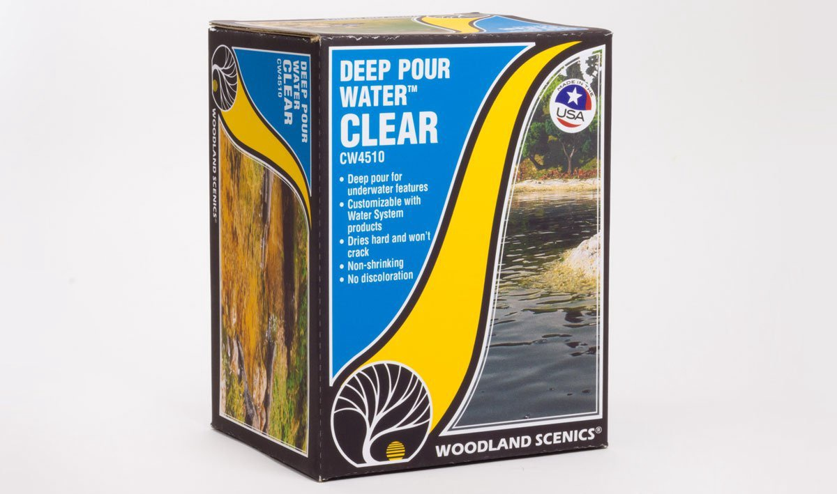 Woodland Scenics #CW4510 Deep Pour Water Clear