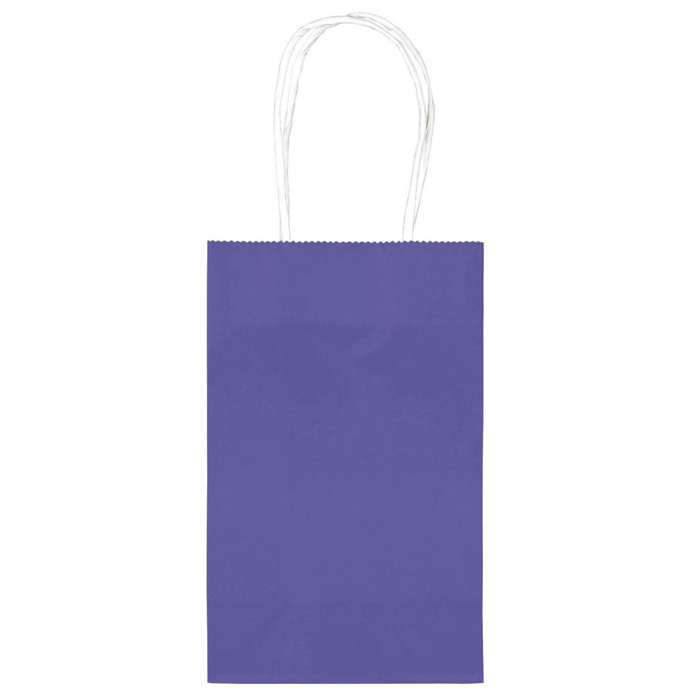 TREAT BAGS 10 BRIGHT ROYAL BLUE