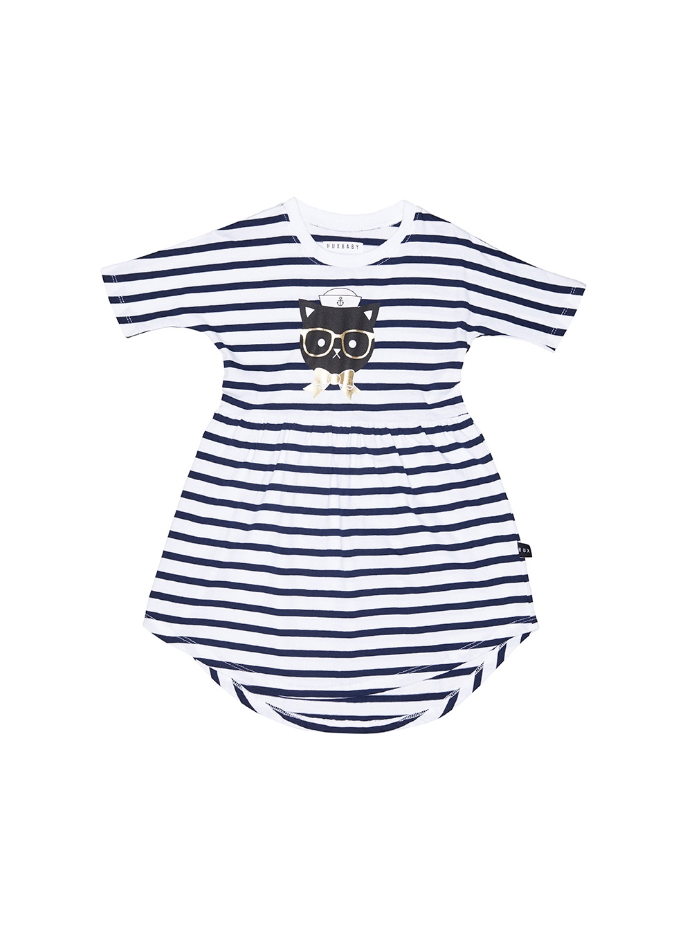 STRIPE SWIRL DRESS KIDS