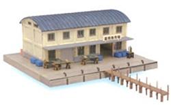 Tomytec #738-282136 N Scale Public Pier