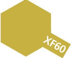 Tamiya Enamel Paint #8160 #XF-60 Dark Yellow