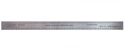 Excel #55777 Scale Model Railroad Ruler