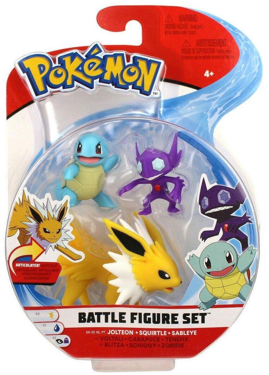 POKEMON BATTLE FIGURE SET