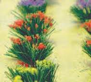 JTT Trees #95581 HO Flower Bushes-30 pce