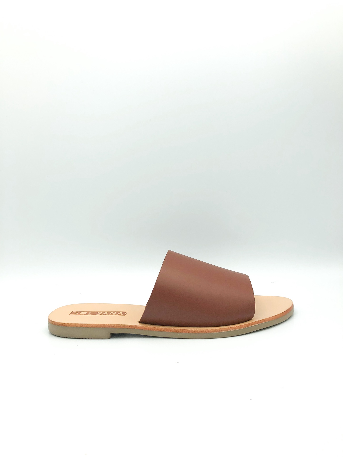 SOL SANA - TERESA SLIDE IN BURNT TAN