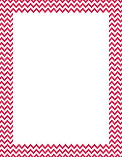 CTP 0966 POPPY RED CHEVRON BLANK CHART