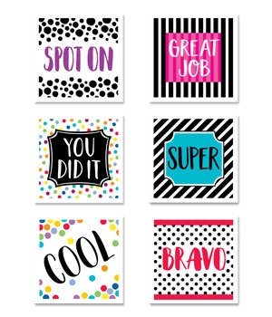 CTP 2160 BOLD & BRIGHT REWARD STICKERS