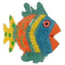 ANGEL FISH-BLUE PINATA