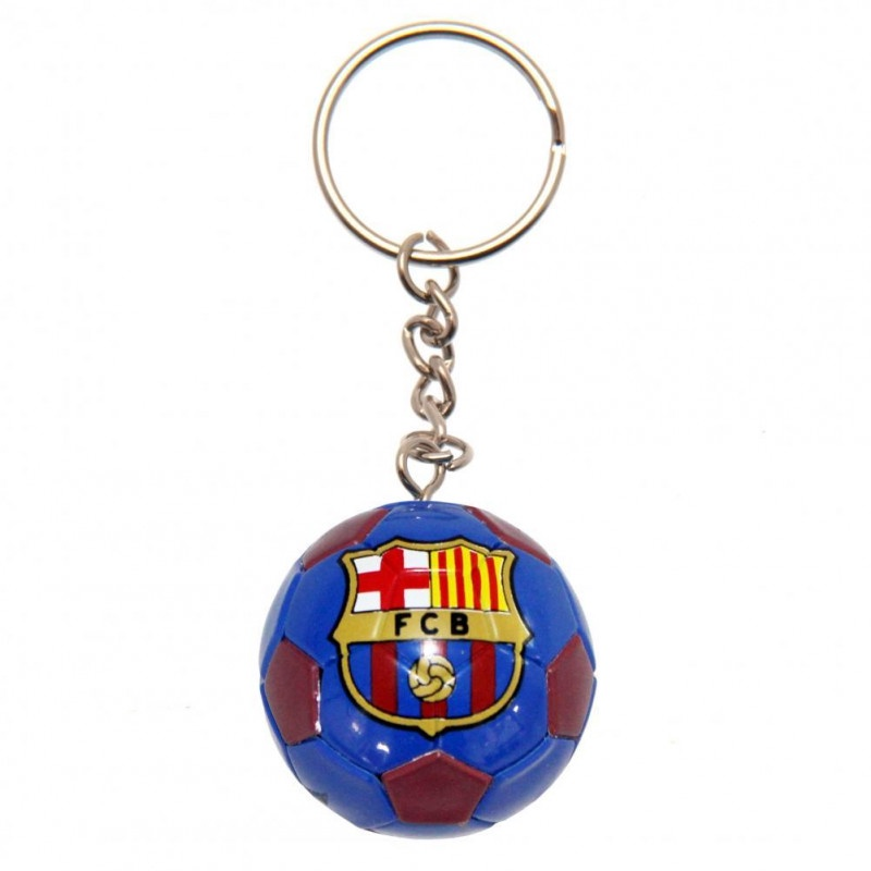 BARCELONA FOOTBALL KEYRING