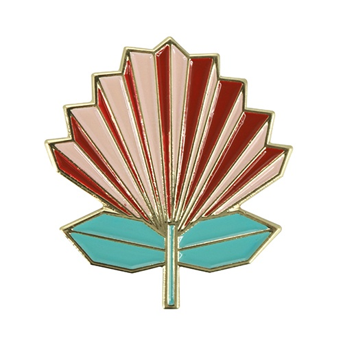 PIN BADGE GEOMETRIC POHOTUKAWA