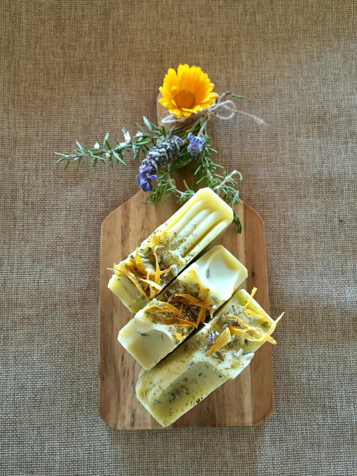 Lavender, Calendula, Chamomile Soap