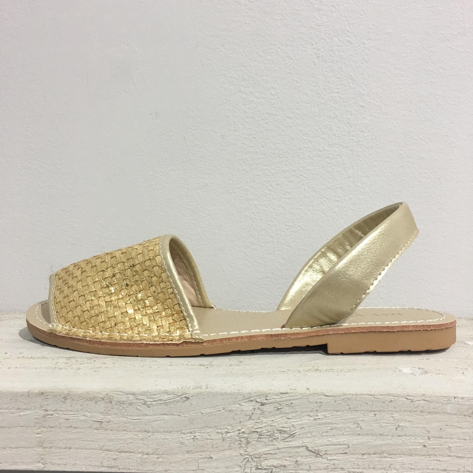Gold Sandals 328