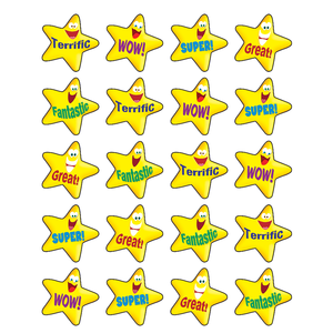 TCR 5126 STARS STICKERS 120