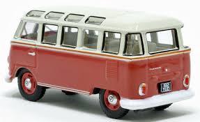 Oxford #76VWS001 1/76 VW T1 Samba Bus