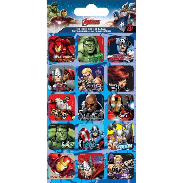 AVENGERS FUN FOILED STICKERS