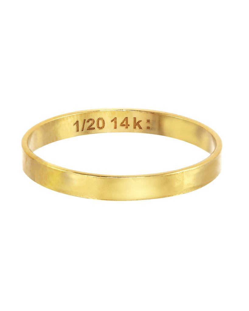 Thin Gold Ring