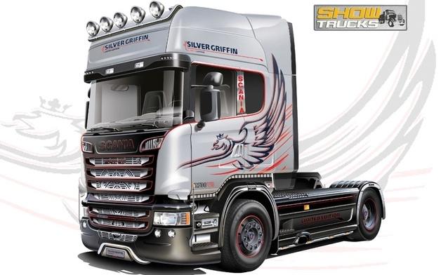 Italeri #3906 1/24 Scania R730 V8 Streamline