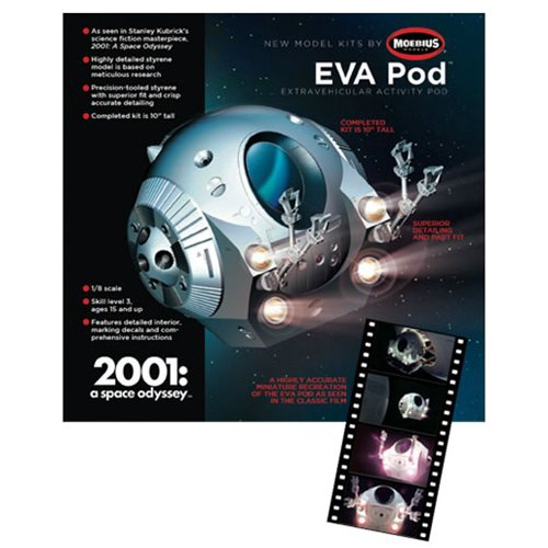 Moebius Models #20014 1/8 EVA Pod - Bay Hobby Supplies