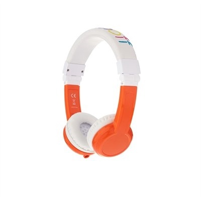 BUDDYPHONES EXPLORE FOLDABLE - ORANGE