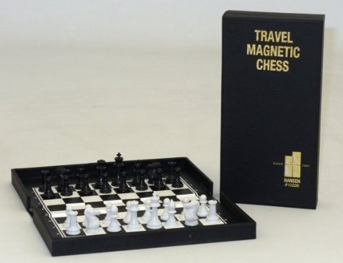 COMPACT TRAVEL MAGNETIC CHESS SET