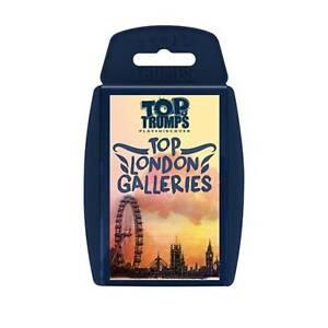 TOP TRUMPS TOP LONDON GALLERIES