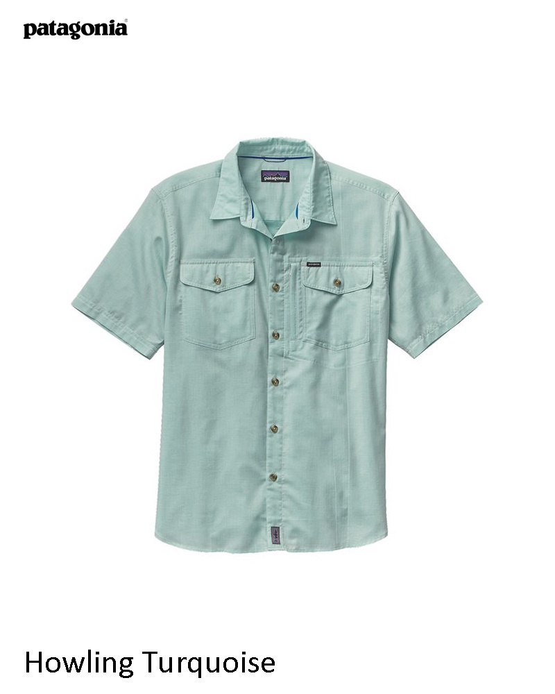 Patagonia Men's Short Sleeve Cayo Largo Shirt