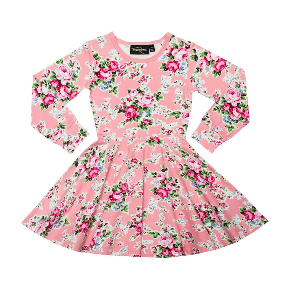 Pink Maeve Waisted Dress