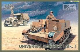 IBG Models #72023 1/72 Universal Carrier I Mk I