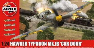 Airfix #A19003 1/24 Hawker Typhoon Mk IB
