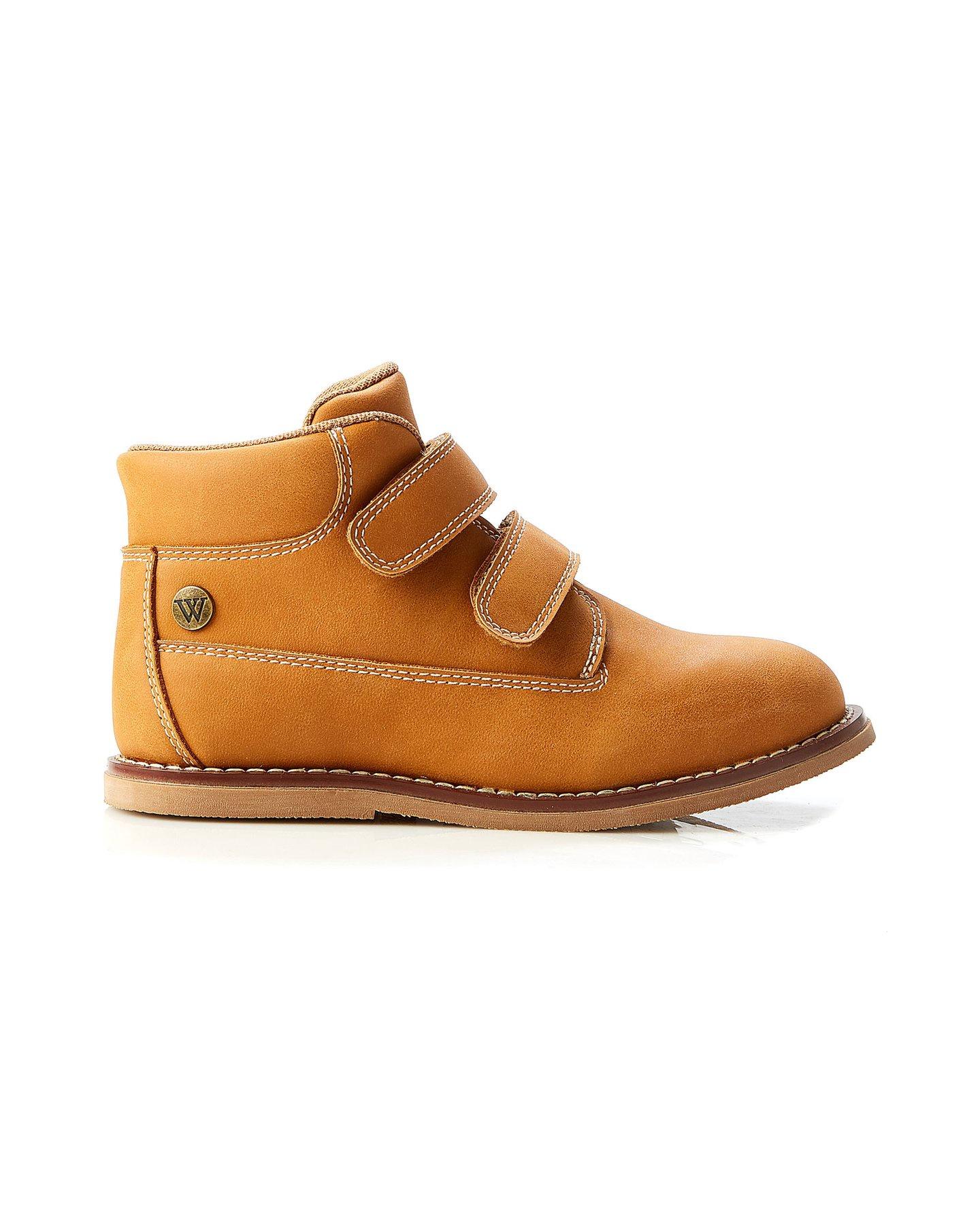 Walnut Blaze Twin Strap Boot Tan