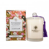 W & L Japanese Plum Candle