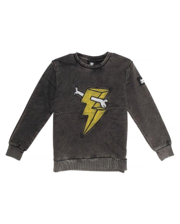 BOB Jumper Classic Lightning Bone Vintage Black