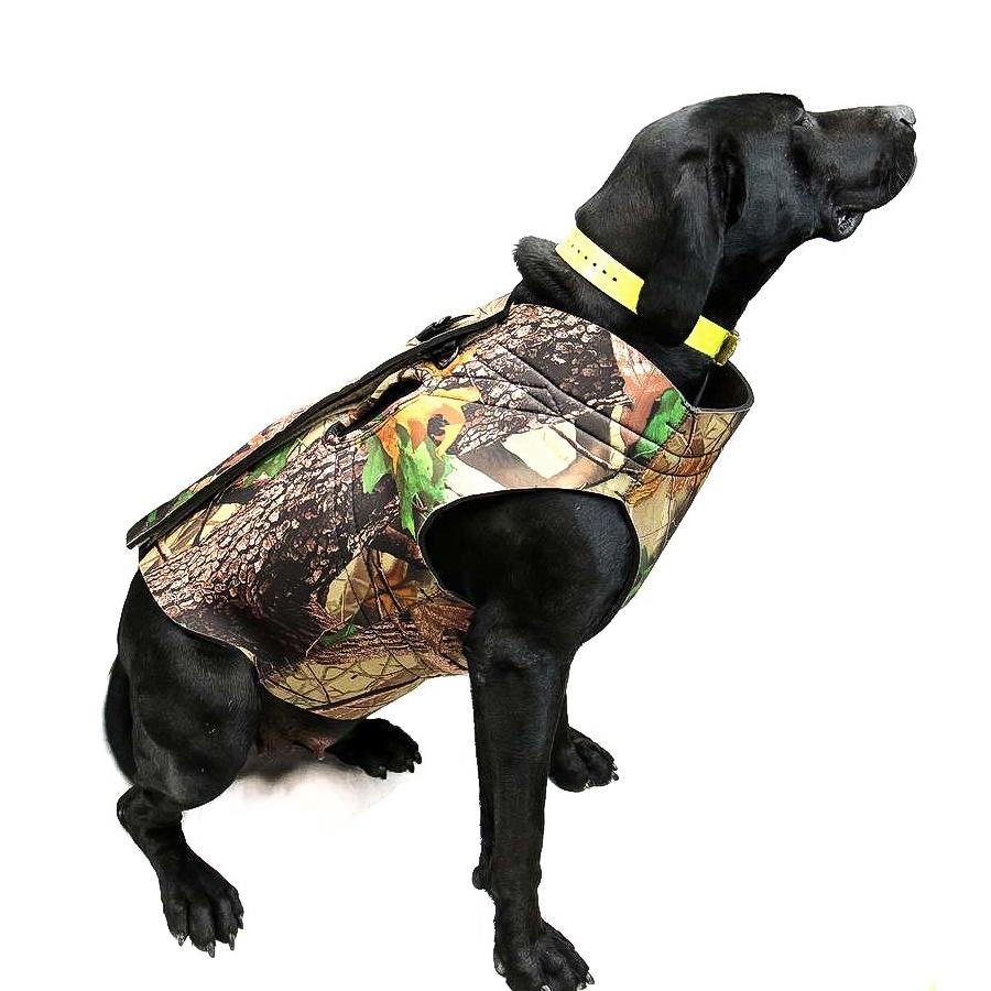sale retailer ecd6b 47344 Neoprene Camo Dog Vest 5mm