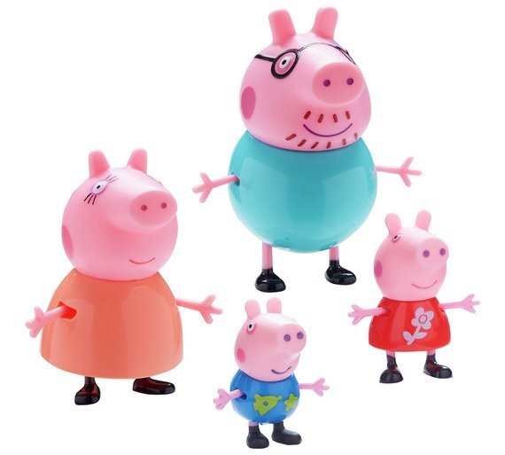 PEPPA FAMILY FAMILY FIGURE 4