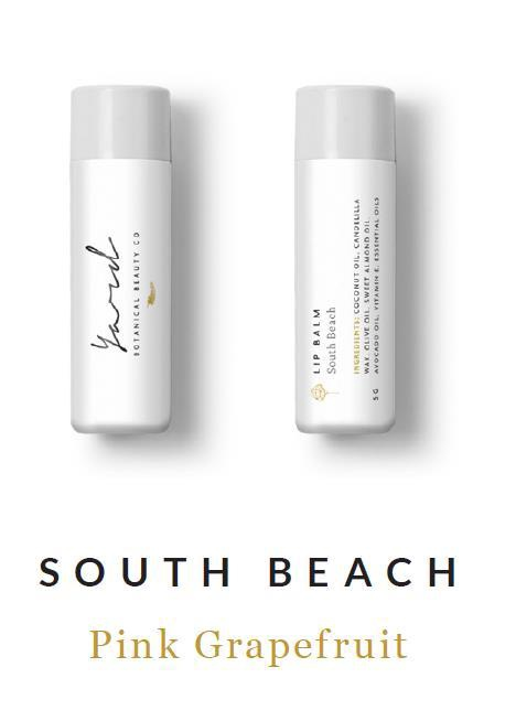 South Beach Pink Grapefruit Lip Balm