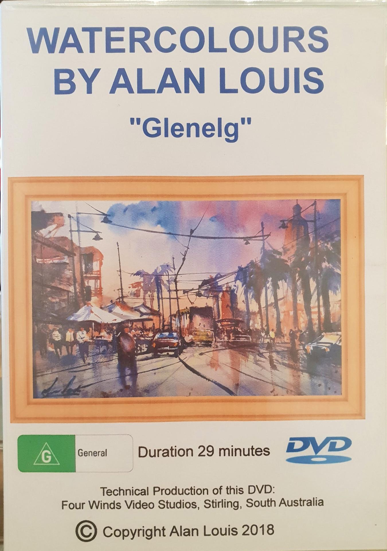 Instructional DVD: Watercolours by Alan Louis