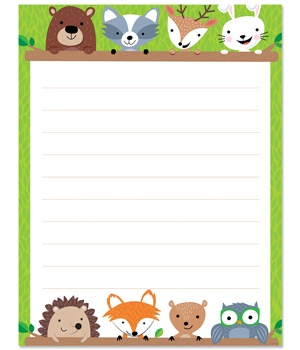 CTP 5295 WOODLAND FRIENDS LINED CHART