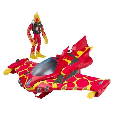 BEN 10 HEATBLAST POCKET FLYER