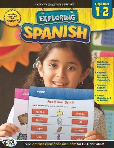 CD 704138 EXPLORING SPANISH 1-2