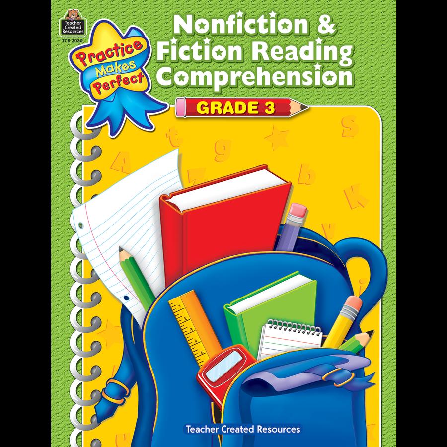 TCR 3030 NONFICTION AND FICTION READING COMP GR 3