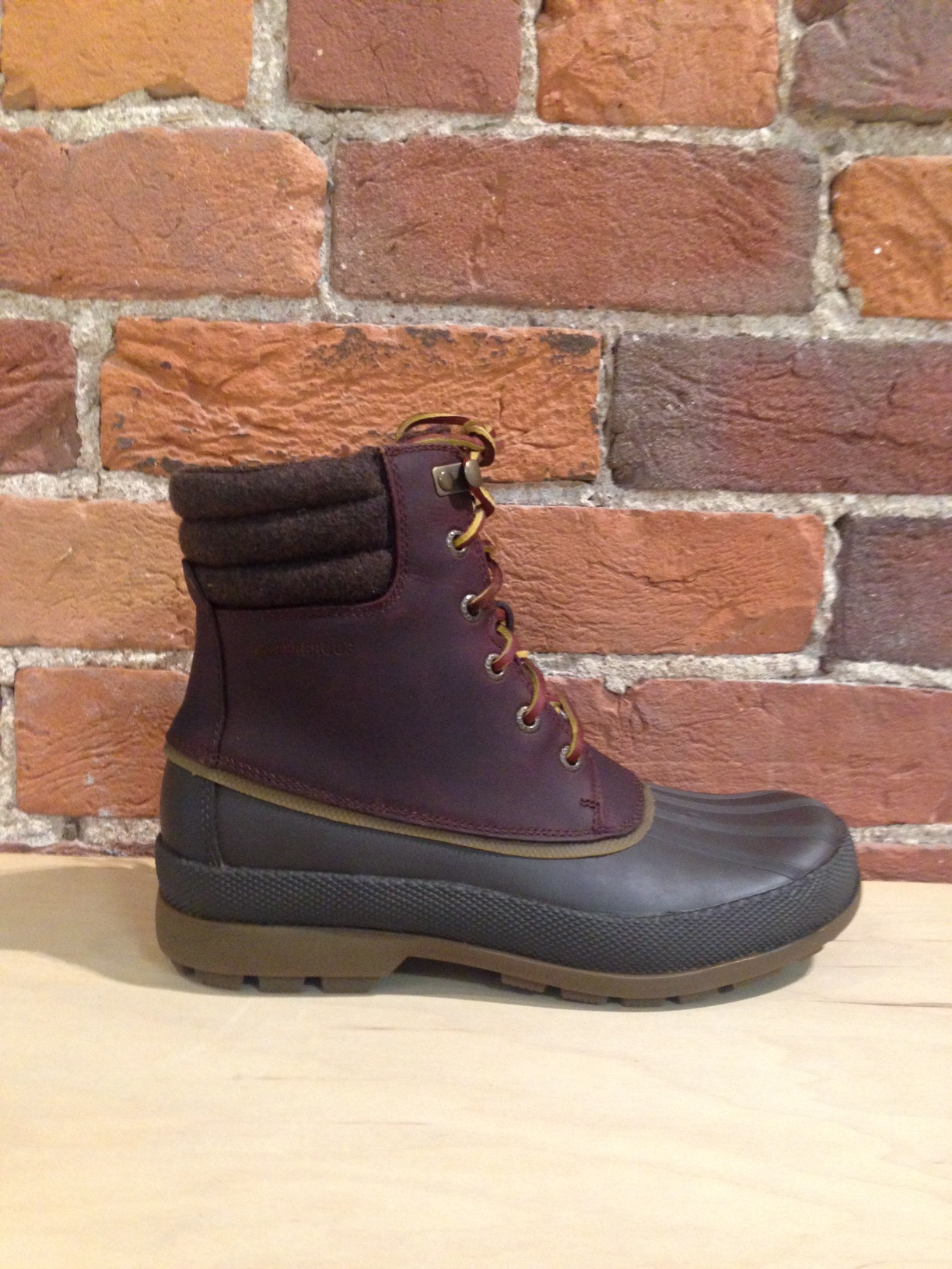 SPERRY - COLD BAY BOOT ICE + IN TAN