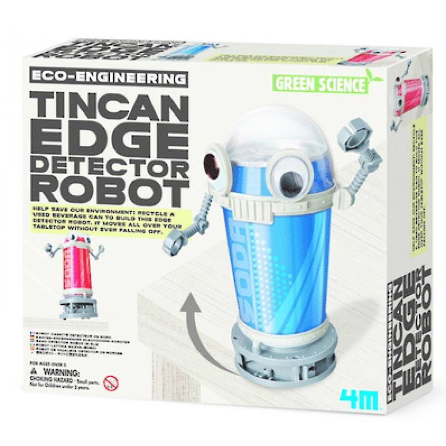 ECO-ENGINEERING TINCAN EDGE DETECTOR ROBOT