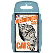 TOP TRUMPS WHO IS THE MOST MISCHIEVOUS? CATS